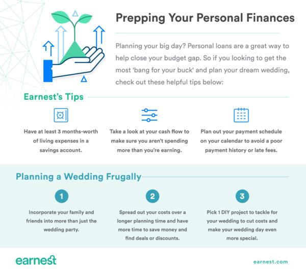 EarnestGuest_prepping_for_personal_loan_wedding