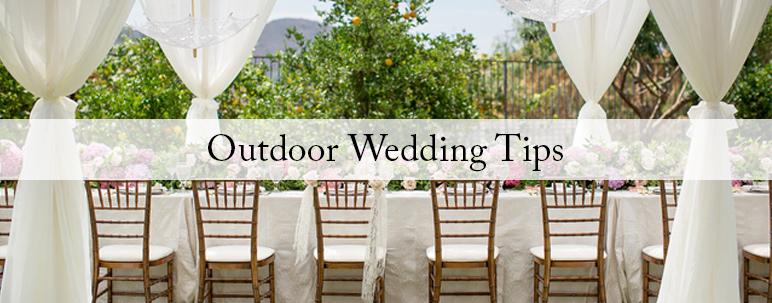 Outdoor Wedding Q A With Event Planner Dina De La Vega