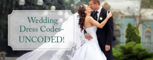 wedding dress codes uncoded