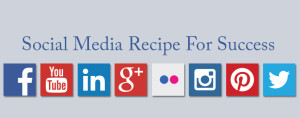 social media recipe for success
