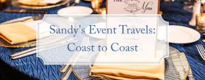 Sandy's event travels