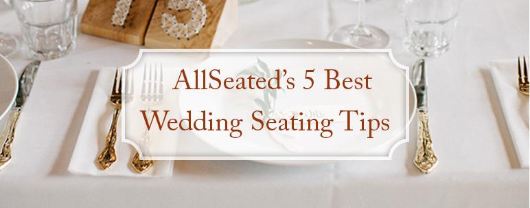 wedding seating chart tips