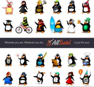 allseated penguins