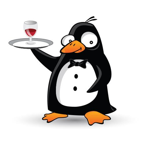AllSeated waiter penguin