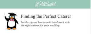 finding the perfect caterer