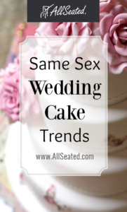 Same Sex Wedding Cake Trends