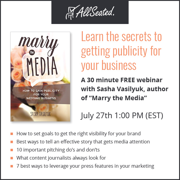 webinar alert! Learn how to get publicity for your business