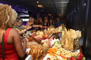 AllSeated red carpet event food