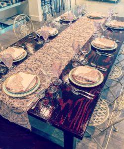 Atlas Party Rental tablescape