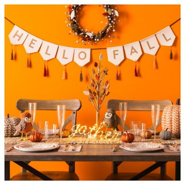 Styling your fall tablescape allseated Target fall home decor
