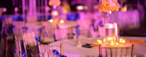 event lighting and decor trends 2017