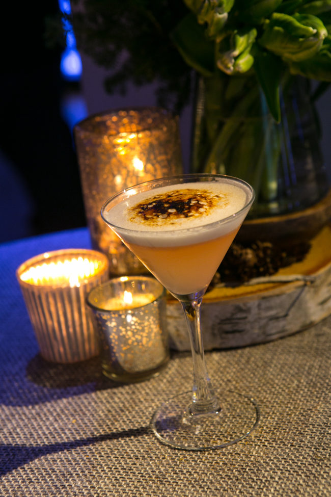 bruleed blonde french martini