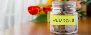 create your wedding budget and stick to it!