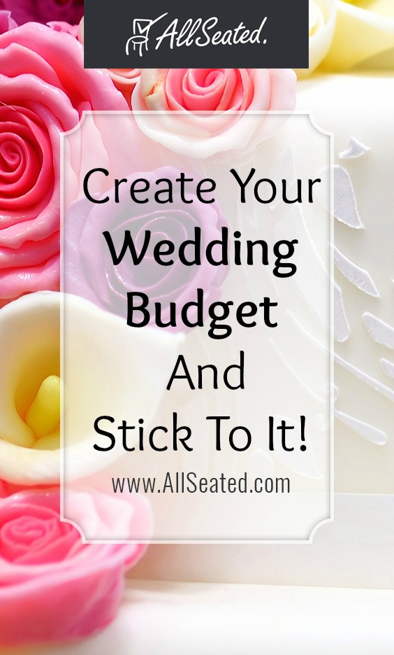 how to create your wedding budget and stick to it!/ AllSeated