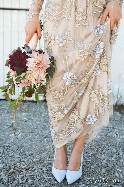 romantic bohemian wedding