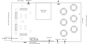 bar mitzvah floorplan