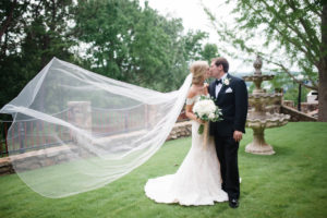 wedding spotlight bride and groom/AllSeated