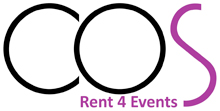 cos rental new logo