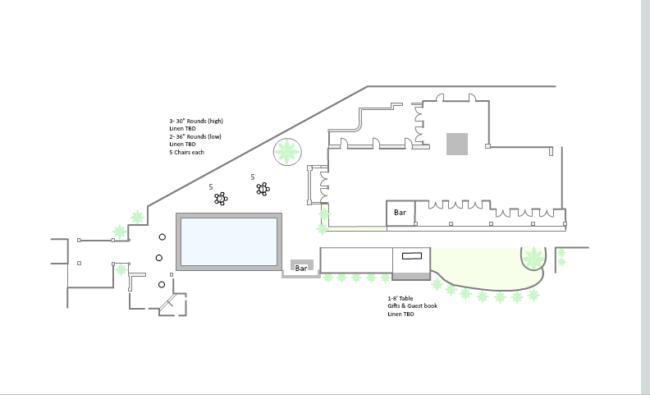 AllSeated wedding floorplan
