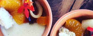 Valentine's Day Recipe Burnt Honey and Chamomile Panna Cotta