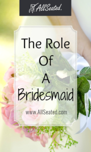the role of a bridesmaid