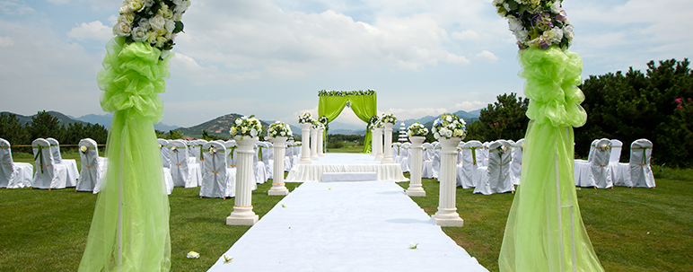 3 Things To Remember When Planning An Outdoor Wedding