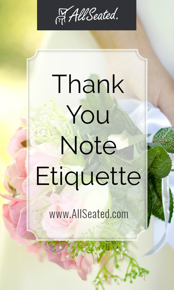 ultimate guide to thank you note etiquette