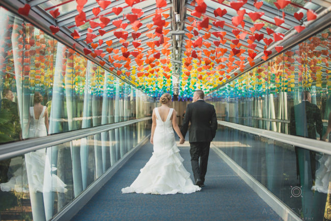 Orlando Science Center Wedding
