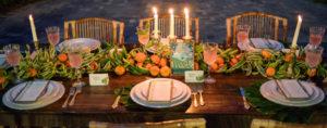 wedding table decor and design