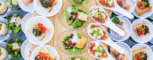 latest in wedding food and beverage trends