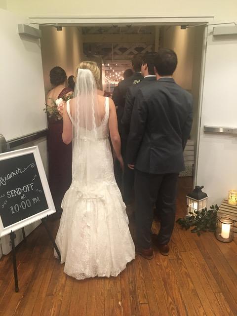 Wedding Spotlight North Carolina Winter Wedding Allseated