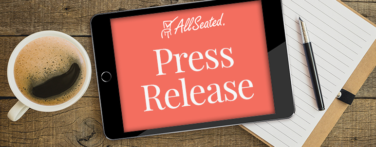 AllSeated Press Release
