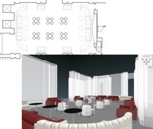 AllSeated 2D - 3D Floorplan