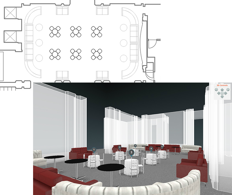 Virtual Reality Take The Wedding Reception Table Layout