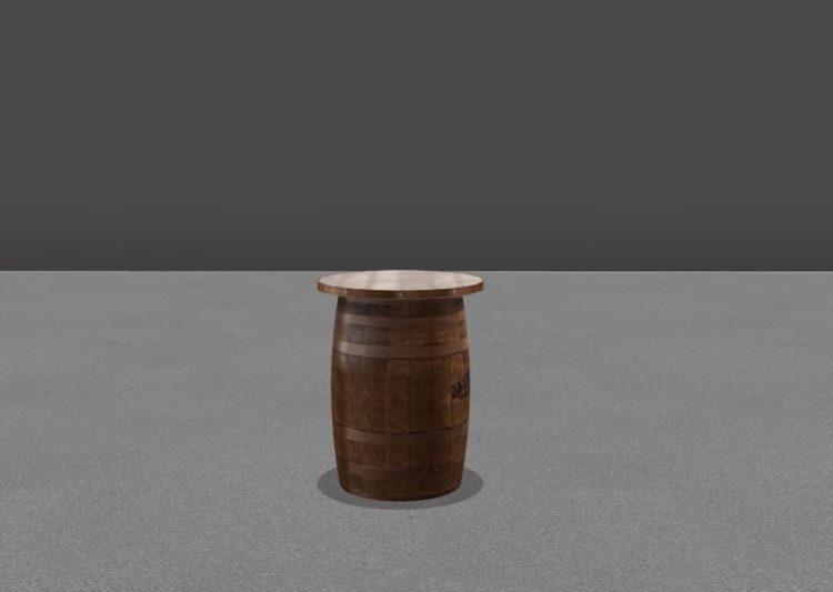 AllSeated whiskey barrel