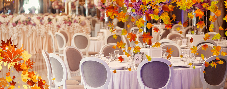 fall wedding trends