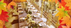 fall wedding event planning