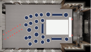 Ziegfeld event floorplan