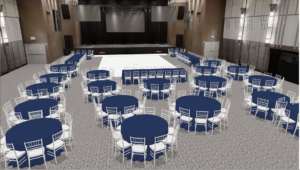Ziegfeld event floorplan