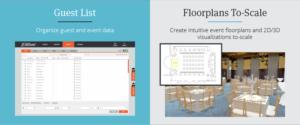 AllSeated Guestlist and Floorplans