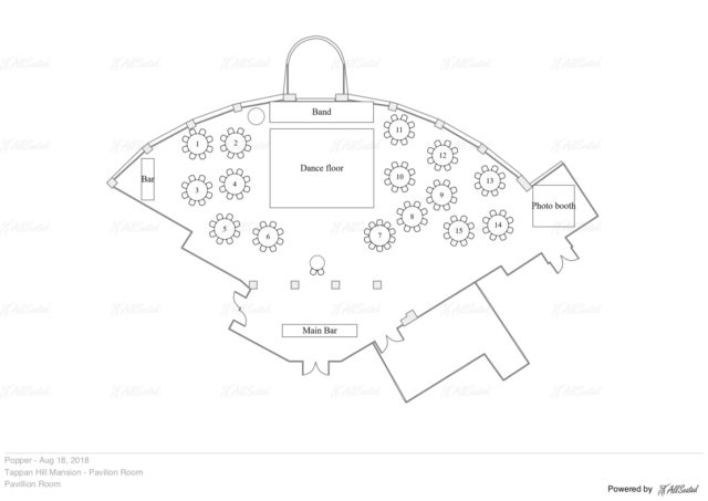 wedding floorplan