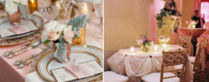 wedding tabletop ideas for clients