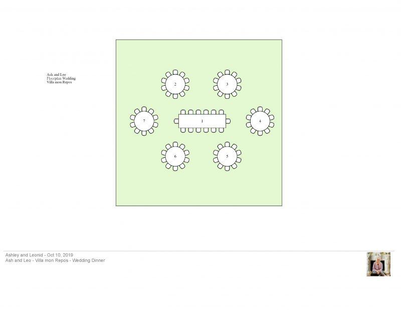 Allseated floorplan