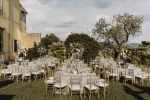 wedding at villa di Maiano