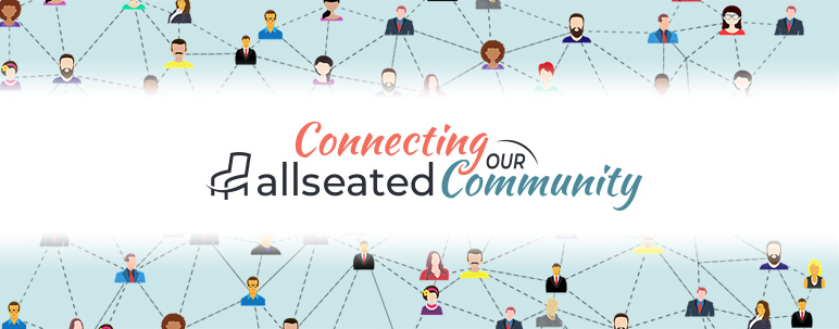Allseated connecting community webinars