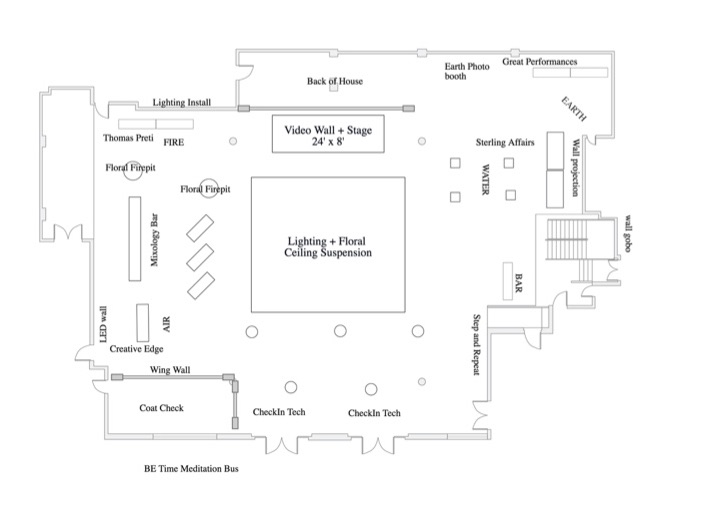 altman building event floorplan