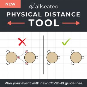 allseated physical distance tool