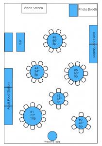 event floorplan
