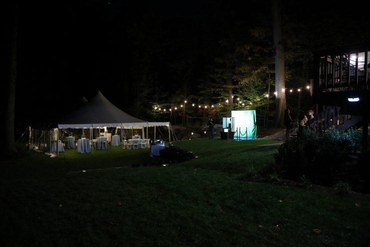 outdoor bar mitzvah