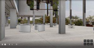 allseated 3D event floorplan
